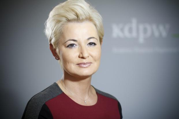 Iwona  Sroka - prezes , Krajowy Depozyt Papierów Wartościowych - sylwetka osoby