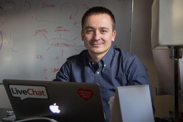 Mariusz Ciepły - prezes zarządu, LiveChat Software   - sylwetka osoby