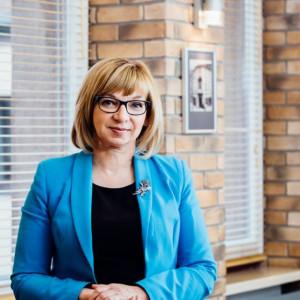 Elżbieta Radwan - burmistrz w: Wołomin