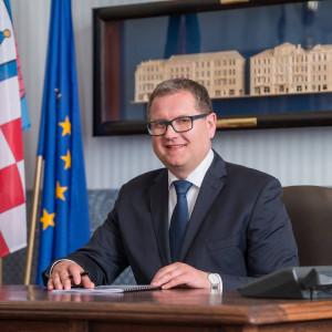 Grzegorz Sapiński - kandydat na prezydenta w miejscowości Kalisz w wyborach samorządowych 2018