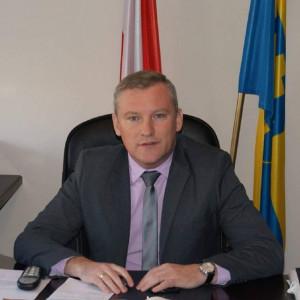 Michał Pyrzyk - burmistrz w: Słupca