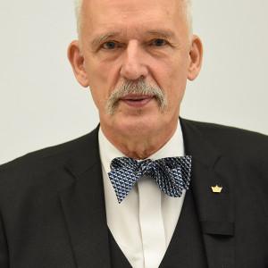 Janusz Korwin-Mikke - kandydat na prezydenta w miejscowości Warszawa w wyborach samorządowych 2018