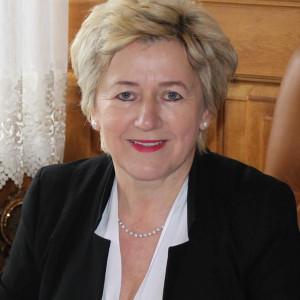 Irena Marcisz - wójt w: Łopuszno