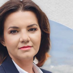 Anna Urbaniak - kandydat na wójta w miejscowości Kramsk w wyborach samorządowych 2018