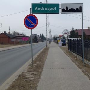 gmina Andrespol, łódzkie