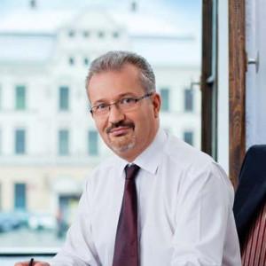 Mieczysław Szczurek - starosta w: cieszyński