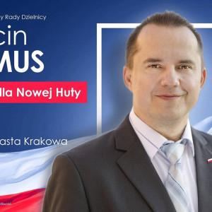 Marcin Permus - kandydat na radnego w miejscowości Kraków w wyborach samorządowych 2018