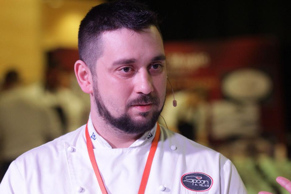 Adrian Feliks - Szef kuchni, właściciel firmy organizującej warsztaty kulinarne,  - sylwetka osoby z branży HoReCa