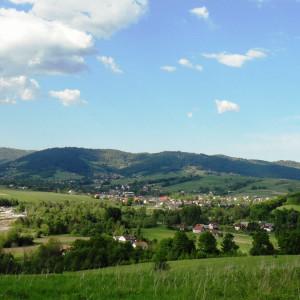 gmina Łękawica, śląskie