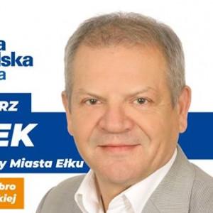 Włodzimierz Szelążek - radny w: Ełk