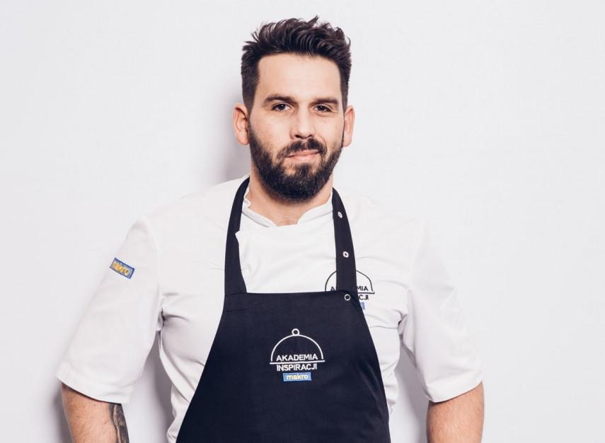 Michał Molenda - szef kuchni,  - sylwetka osoby z branży HoReCa
