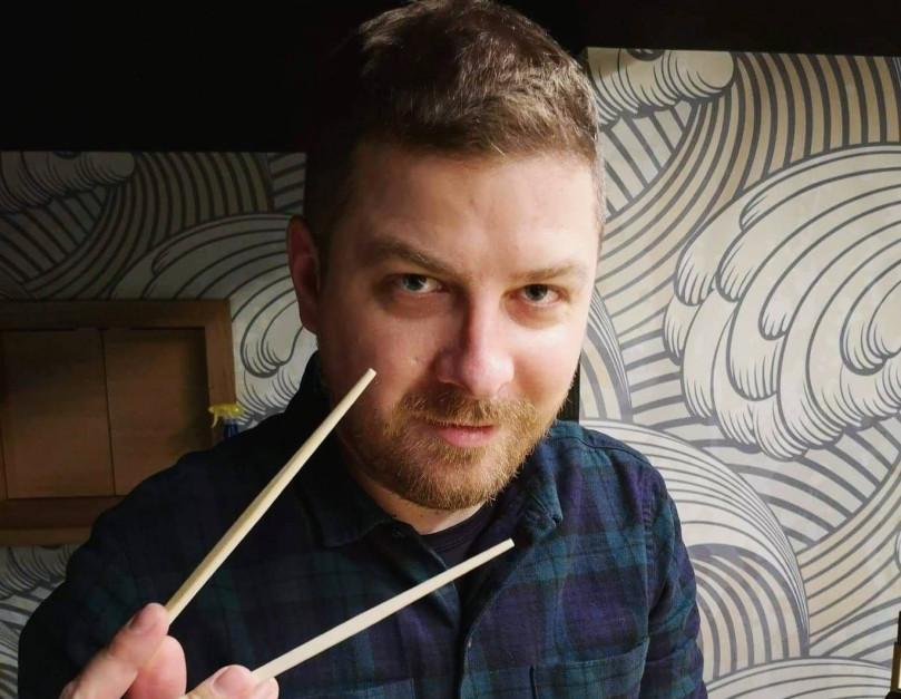 Tomasz  Czajkowski - autor bloga , Magiczny Składnik - sylwetka osoby z branży HoReCa