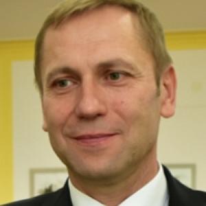 Janusz Mielczarek - starosta w: łęczycki