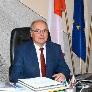 Marian Świerszcz - starosta w: olecki