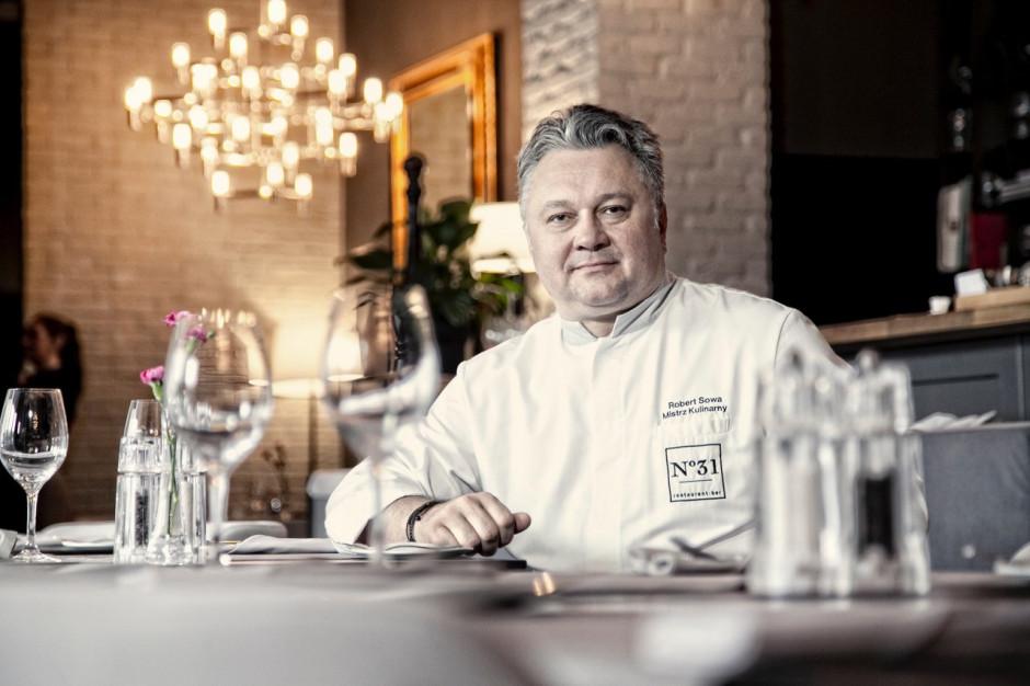 Robert  Sowa - szef kuchni,  - sylwetka osoby z branży HoReCa