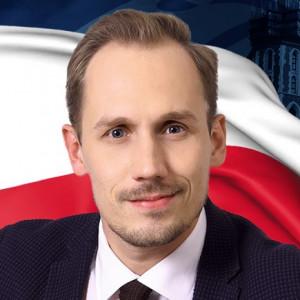 Konrad Berkowicz - kandydat na europosła w: Okręg nr 10 - województwo małopolskie i świętokrzyskie