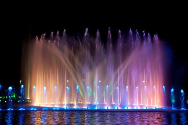 Wrocławska fontanna przed Halą Stulecia, Piotr Walczak & Konradr /Wikimedia commons /(CC BY-SA 3.0)