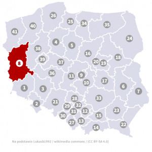 Okręg nr 8 (Zielona Góra) – wybory parlamentarne 2019 – głosowanie do sejmu