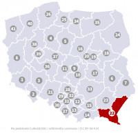 Wybory do Sejmu - Okręg nr 22, podkarpackie