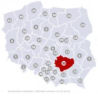Wybory do Sejmu - Okręg nr 33, świętokrzyskie