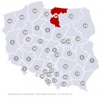 Wybory do Sejmu - Okręg nr 34, warmińsko-mazurskie