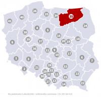 Wybory do Sejmu - Okręg nr 35, warmińsko-mazurskie
