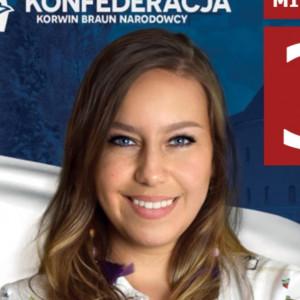 Joanna Michalewicz - kandydat na radnego w: Giżycko - Kandydat na posła w: Okręg nr 35