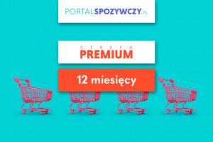 Strefa Super Premium portalspozywczy.pl (z rankingami) - 1 rok