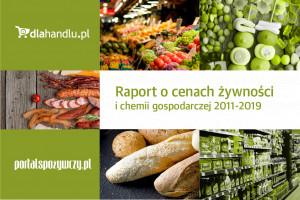 Raport o cenach żywności i chemii gospodarczej 2011-2019